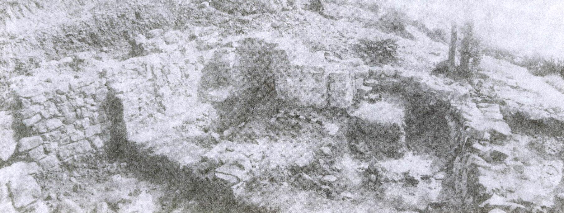 Рис. 5. Вид на апсиды изнутри храма.