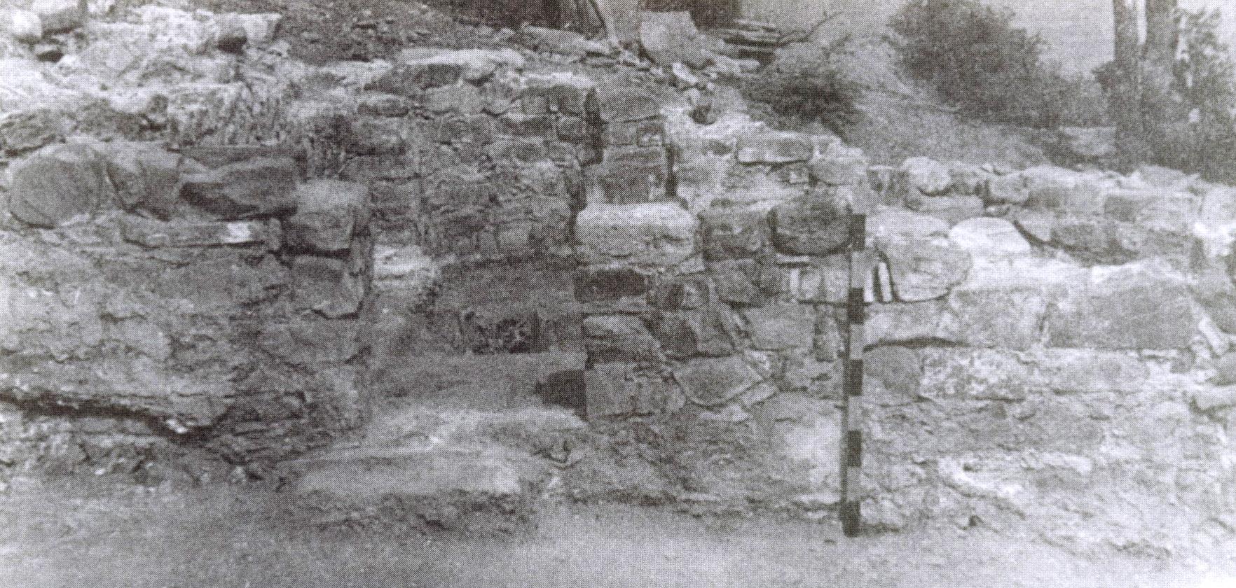 Рис. 8. Вид на западную стену храма.