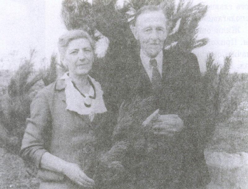 Софья Николаевна и Николай Львович Эрнсты на поселении в Кемерово