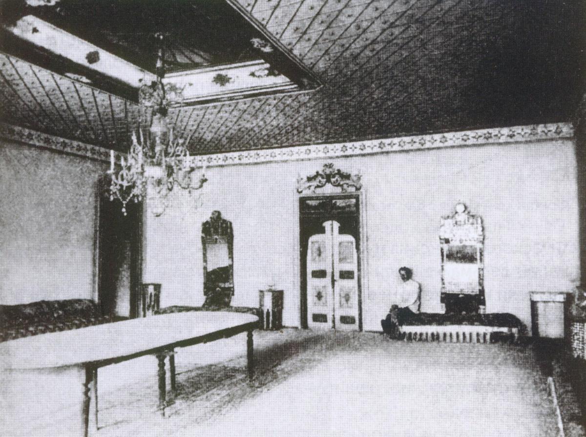 Приемный зал в Бахчисарайском дворце