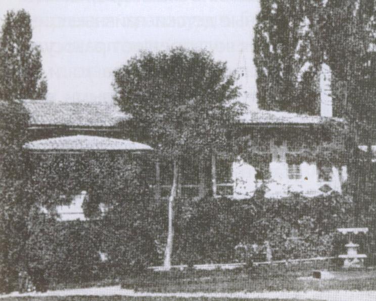 Часть дворца в Бахчисарае