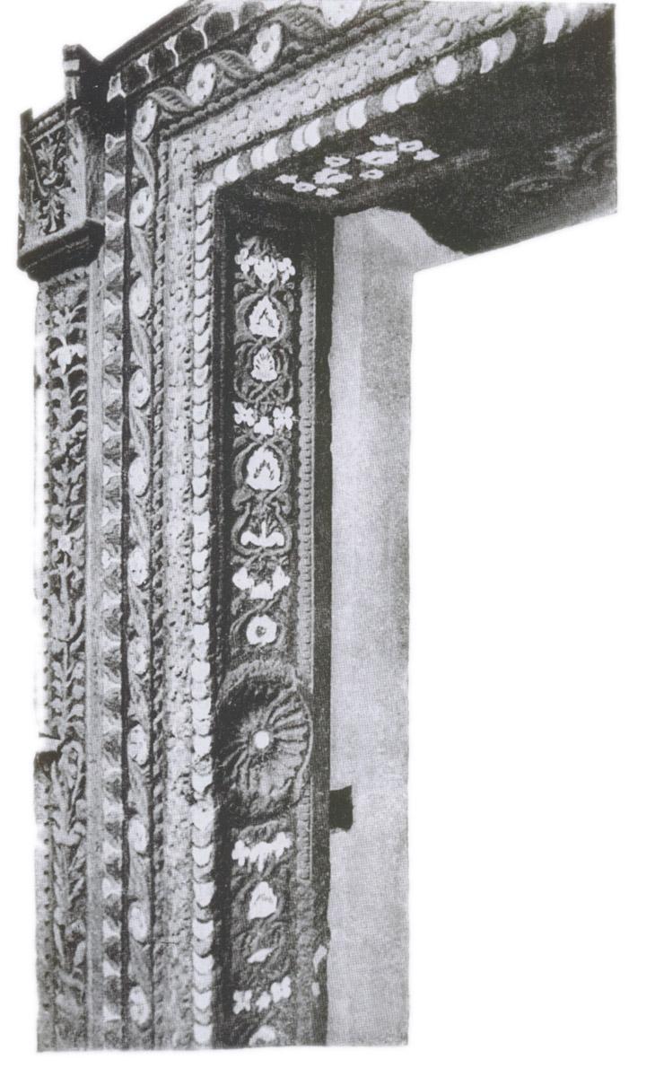 Деталь железной двери хана Менгли-Гирея в Бахчисарайском дворце