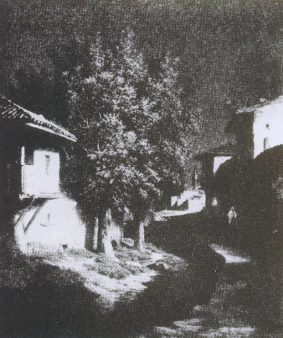Ночь в Бахчисарае. Картина Г. Кондратенко