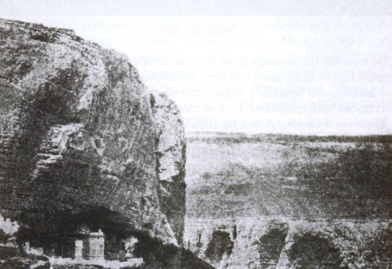 Скала над Успенским скитом