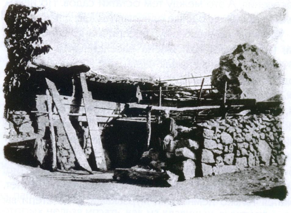 Татарская сакля