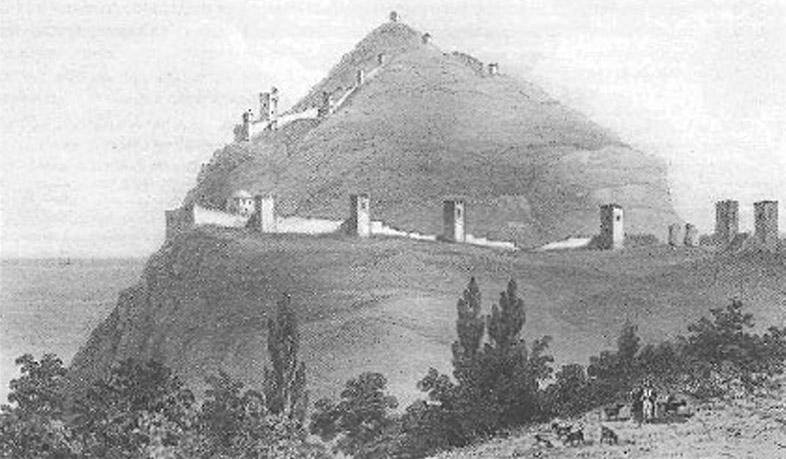 В. Руссен. Крепость в Солдайе