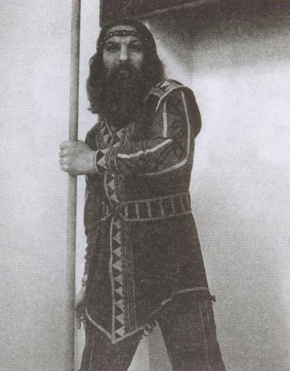 Скифский воин. Экспонат Краеведческого музея