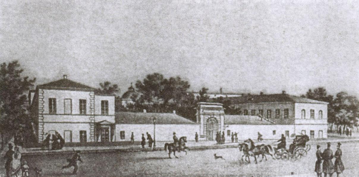 В Ришельевской гимназии поэту работы не нашлось, и он поехал в Евпаторию
