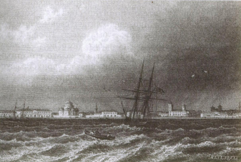 Таким пассажиры яхты «Каролина» увидели евпаторийский берег