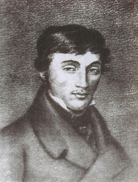 Адам Мицкевич. Пастель В. Ваньковича, 1823 год