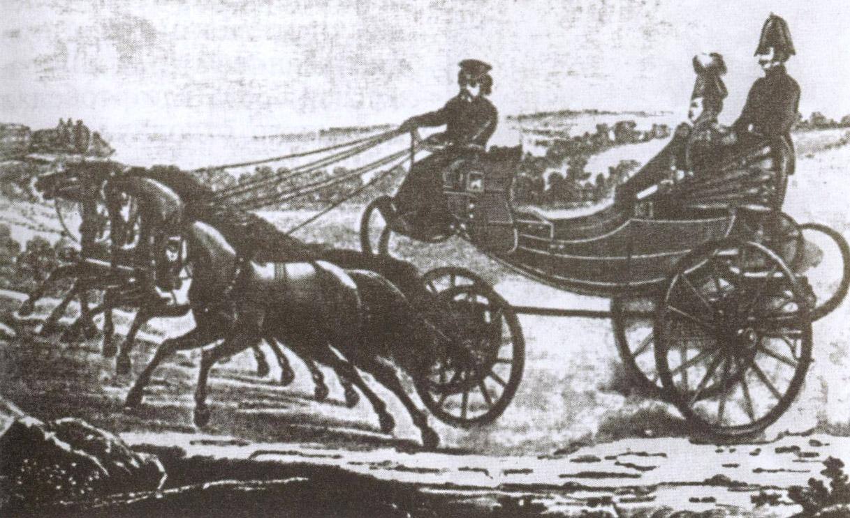 Александр I путешествовал по Крыму в коляске