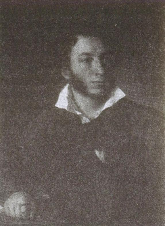 А. С. Пушкин. Портрет работы В. Тропинина