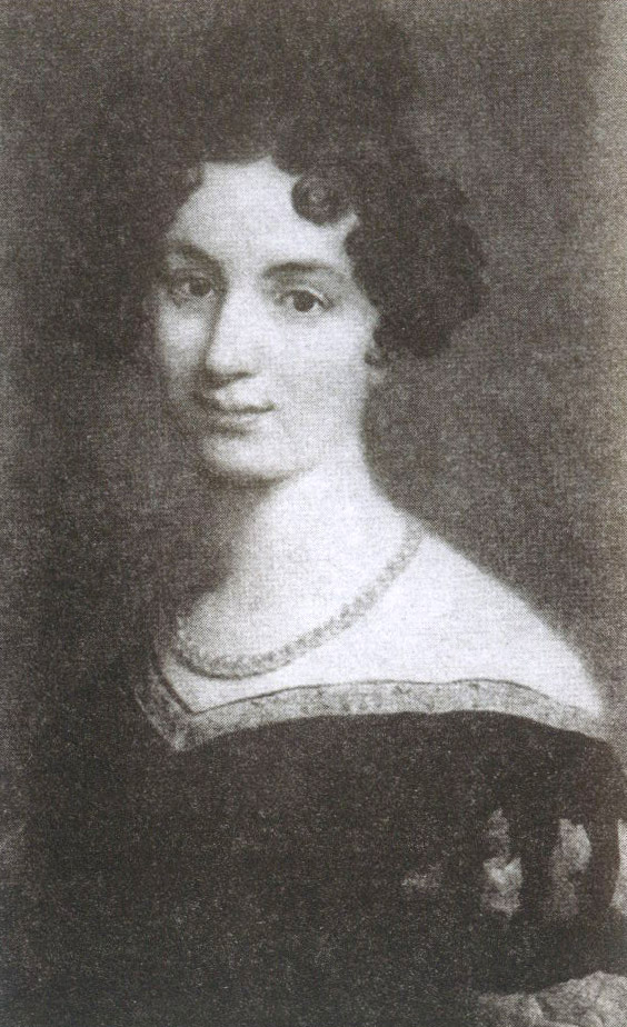Графиня Елизавета Воронцова, жена генерал-губернатора, ответила взаимностью на ухаживания Пушкина, Портрет работы Д. Доу, 1820 год