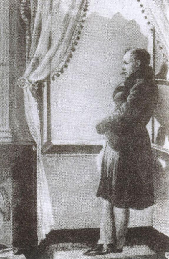 Поэт Василий Жуковский носил пушкинский перстень на среднем пальце правой руки