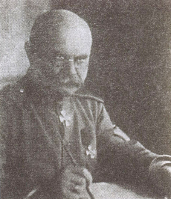 В штаб Добровольческой армии барона привёз из Киева генерал Абрам Драгомиров