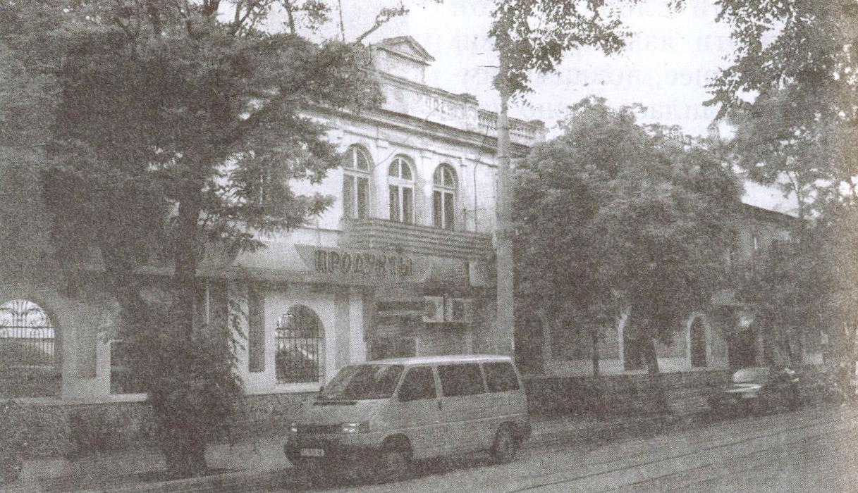 Ставка А. Суворова располагалась в квартале между мечетью Хан-Джами и Николаевским собором