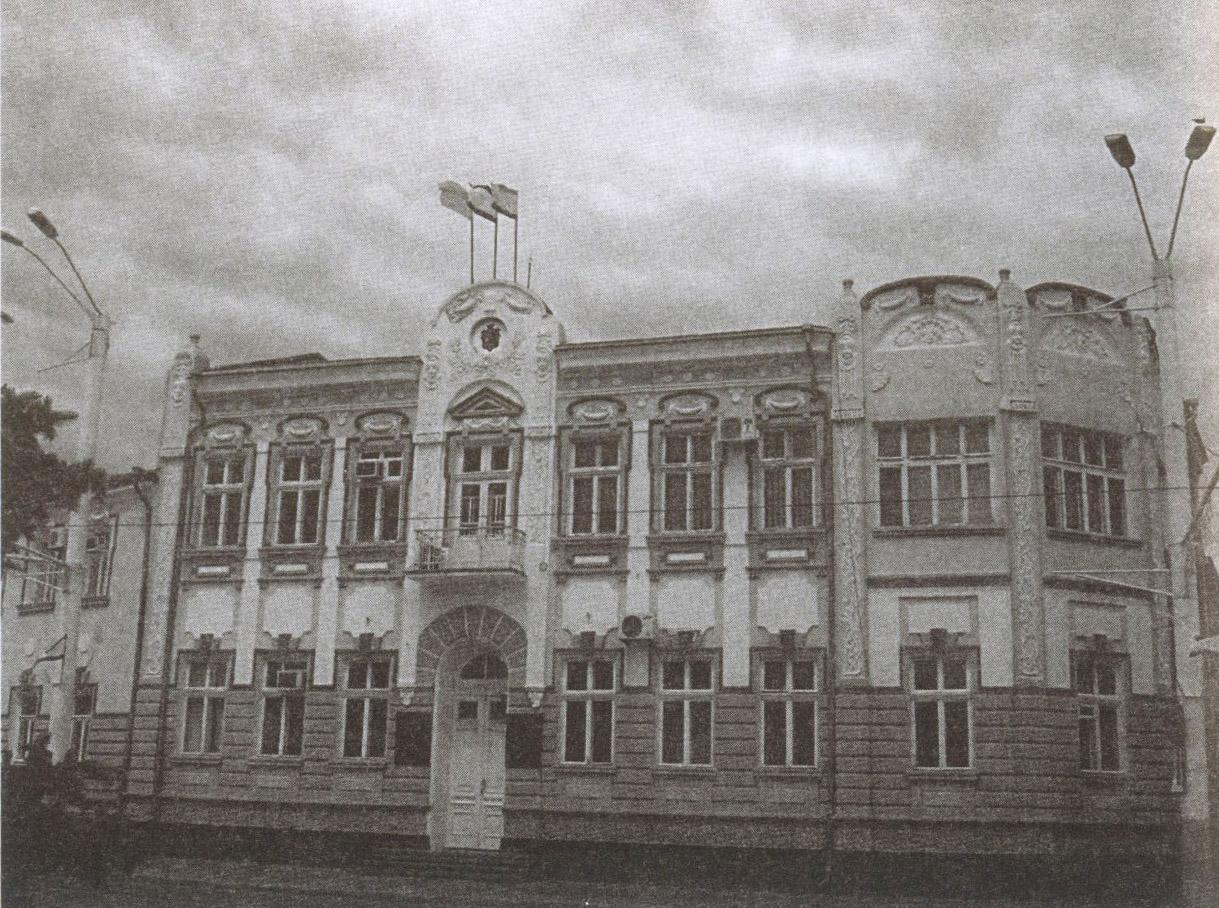 В этом здании, построенном во времена с. Дувана, ныне располагается мэрия Евпатории