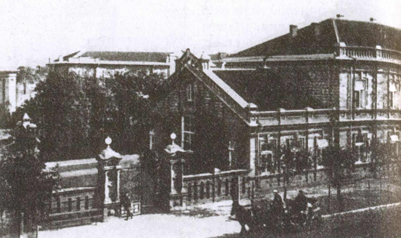 Из Малого Иерусалима Николай II отправился в лазарет, открытый его супругой в «Приморской санатории» по улице Дувановской