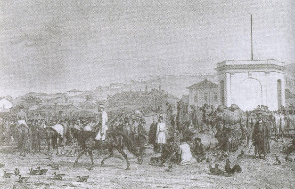 Крымский базар