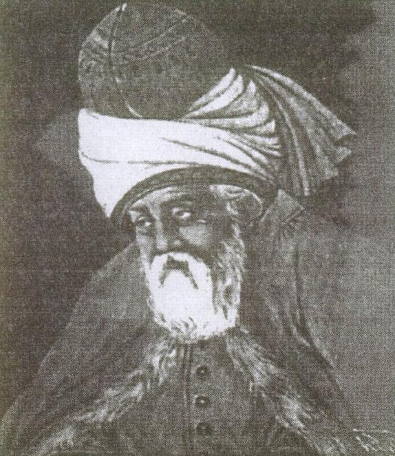 Знаменитого поэта и гуманиста XIII века Джалаледдина Руми считают основателем дервишеского ордена Мевлана