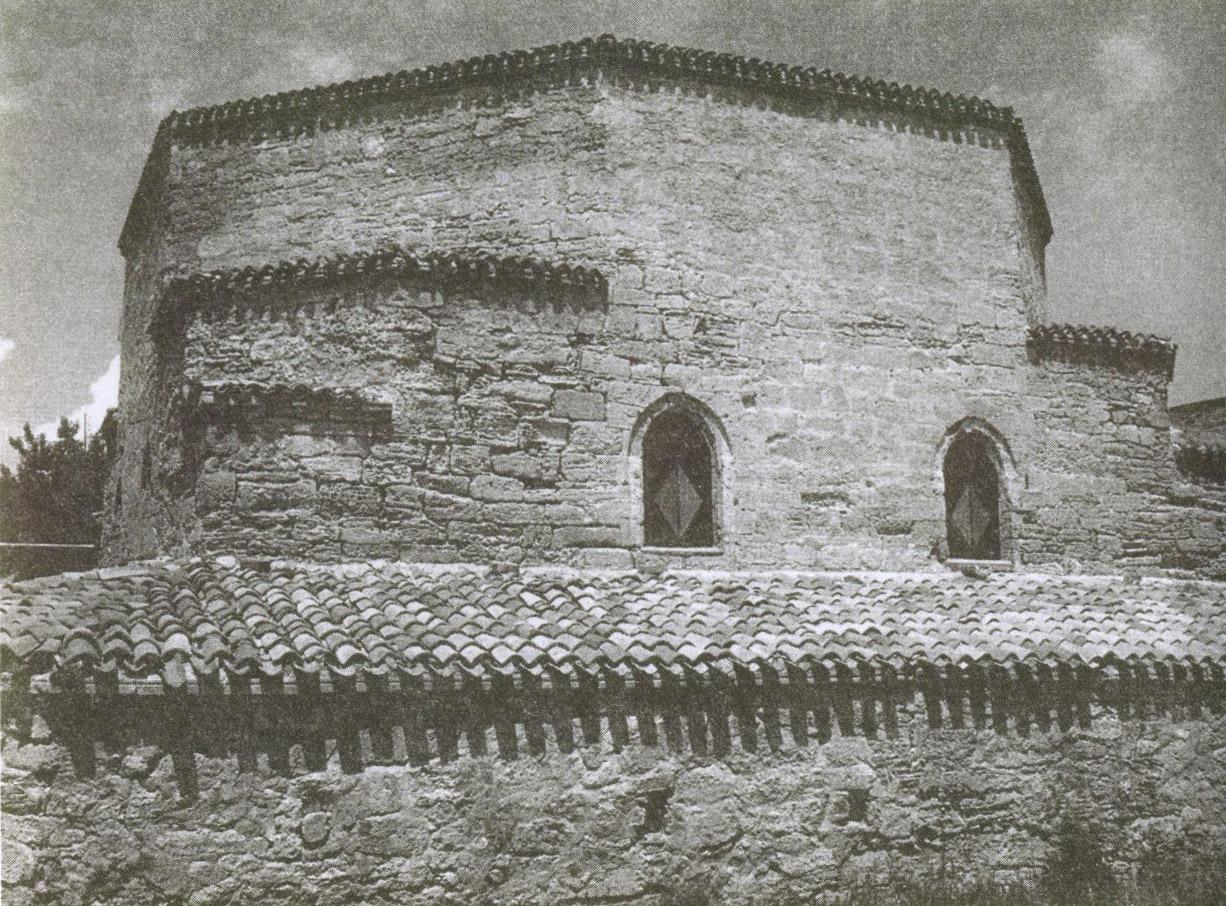 Храм дервишей называется «текие». Постройка XV века. Современный вид