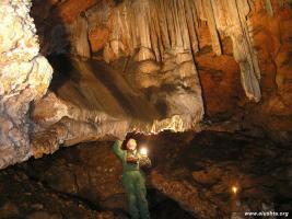 Пещера Ени-Сала II. Общеплеменное святилище древних тавров. Расположена на склонах...